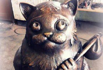 El semen gato monumento en Murmansk: historia, dirección, fotos