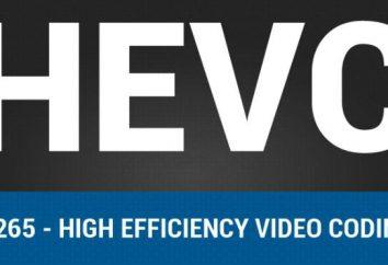 Lo que es: HEVC? Las principales características del nuevo codec
