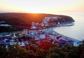 Il villaggio Novomikhailovsky: spiaggia, mare, vacanza