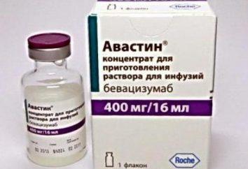 """A droga """"Avastin"""": apreciações paciente, instruções de utilização, efeitos colaterais"""