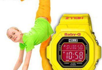 Montres Baby-G (Casio): nous ne pouvons pas ignorer