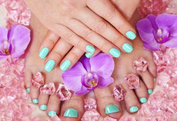 Maniküre Turquoise: Optionen, Fotos
