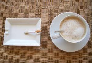 Kawa i papierosy, czy nie dobry