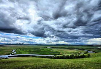 Argun é um rio na fronteira russo-chinesa