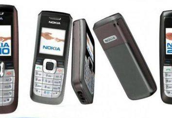 Nokia 2610: opis menu