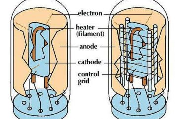 lámpara controlada electrónicamente: diodo y triodo