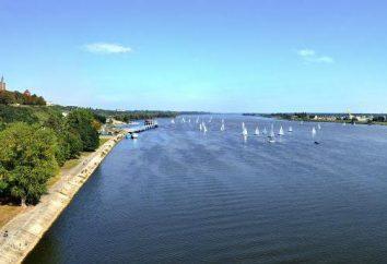 Dużych polskich rzek i słynne jezioro są wspaniałe