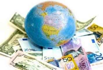 información básica sobre el dinero de diferentes países y datos interesantes sobre ellas