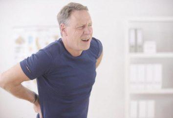 Kości ogonowej siniak: objawy oraz skutki, leczenie