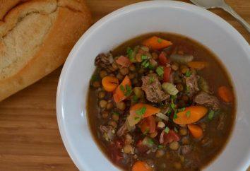 Zuppa di lenticchie con carne. Ricette, foto, suggerimenti