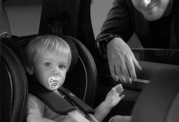 La dignité du siège d'auto pour enfants « Römer ». Caractéristiques modèles