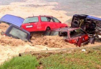 Inondazioni in Bulgaria. perdita