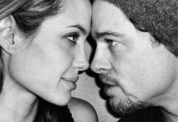 La esposa de Brad Pitt – su reflejo