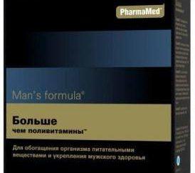 """""""Formula Uomo"""": più di un multivitaminico"""