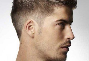 Fryzura dla mężczyzny na krótkich i średnich włosów