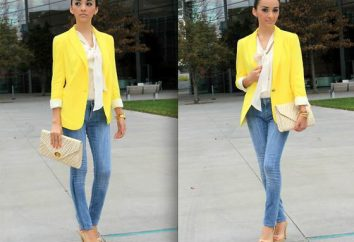 De quoi porter la veste jaune: des idées intéressantes, des combinaisons et des recommandations