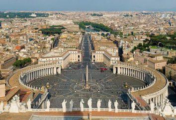 Praça de São Pedro em Roma: fotos e comentários