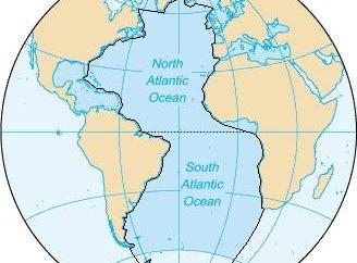 Le relief du plancher de l'océan Atlantique. Les principales caractéristiques du relief du plancher de l'océan Atlantique
