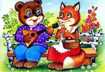 « Le renard et l'ours » – un conte de fées et ses caractéristiques