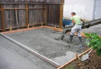 Marke von Zement: wie sie navigieren