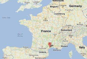 Wo ist Frankreich. Das Klima, die Nachbarn und das Meer, das wäscht