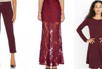 kolorowy strój Marsala – trend sezonu