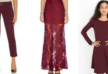 couleur robe Marsala – la tendance de la saison