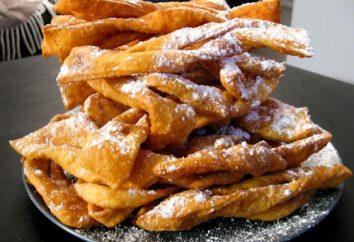 Ramoscelli croccante sottile: ricetta