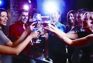 Nós organizamos competições para briga de bêbados