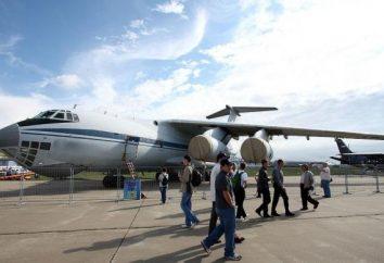 Aereo Il-476: caratteristiche tecniche, consumo di carburante, foto