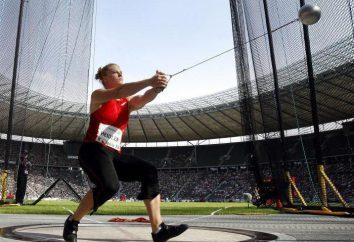 Atletismo nos Jogos Olímpicos: salto com vara, lançamento de martelo, relé, obstáculos que executam
