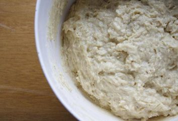 Sauerteigbrot im Ofen: ein Rezept mit einem Foto