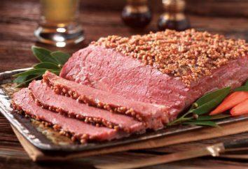 Pastrami Schweinefleisch zu Hause: vor allem Kochen, Rezepte und Bewertungen