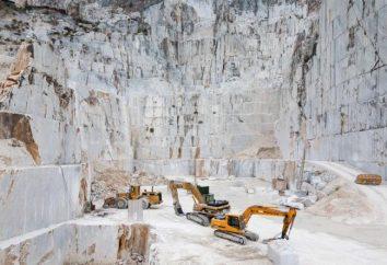 Carrara-Marmor ist berühmt in der ganzen Welt