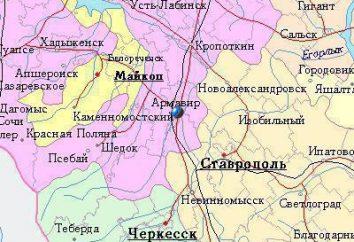 região Armavir, Krasnodar: explorar a cidade