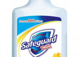"savon anti-bactérien ""Safeguard"" (Safeguard): avis"