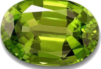 Kamień chryzololiczny: właściwości i opis