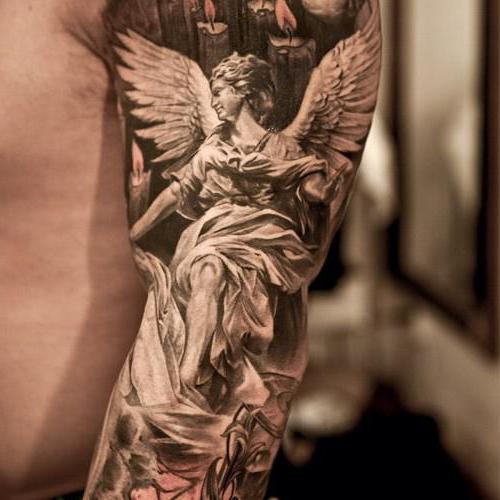 Tatuaż Archanioł Szczególnie Ważne Zdjęcia