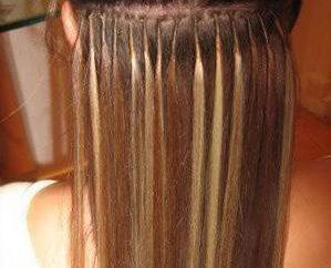 Haarverlängerung auf der Tress: Rückmeldung, Foto, Beschreibung des Verfahrens