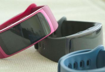 Fitness Bransoletka Samsung Gear Fit 2: przegląd i opinie