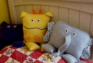 Zabawki-poduszki: wzór i instrukcje do produkcji