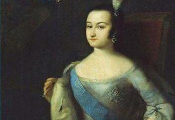 Princesa Ana Leopóldovna: una breve biografía y el reino