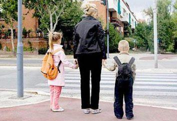 das Kind zu und von der Schule zu begleiten. Wie ein Kindermädchen zu wählen, das Kind zu begleiten?