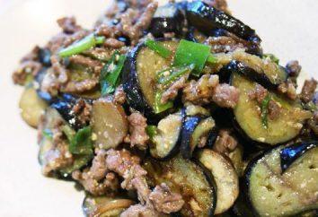 Rindfleisch mit Auberginen: ein Rezept mit Foto