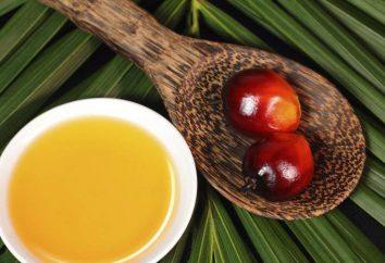 Gdzie olej palmowy rośnie?