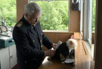 Il gatto nel vestito del capitano – la più bella membro della squadra della nave da crociera russa