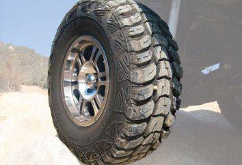 Pneus para off-road. Tipos de pneus para veículos utilitários esportivos