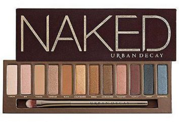 Ombres « Naked »: avis sur palettes