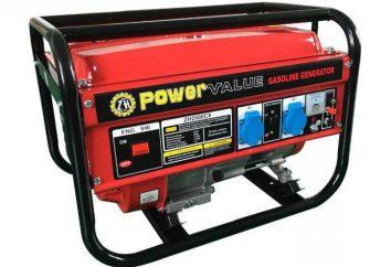 Generatori di benzina 5 kW. Generatore della benzina: panoramica, tipologie, caratteristiche e recensioni