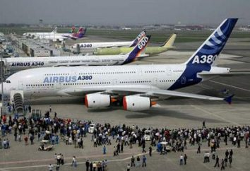 A380 – l'avion. Les avions modernes. Quel est le « Airbus A380 »